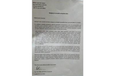 Rezignace Petra Elišky na post zastupitele