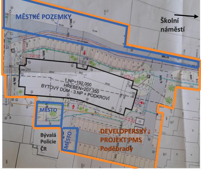 Necháme realizovat v bývalé ČSAP další pro město ztrátový developerský projekt a podpoříme jej městskými pozemky?