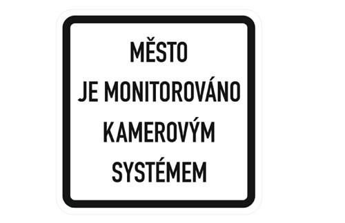 Instalace dopravního značení na vjezdech do města