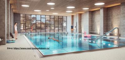 Radnice v Lysé místo šetření utrácí peníze za školní bazén